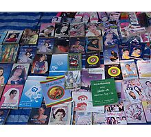 Shan books for sale Photographic Print