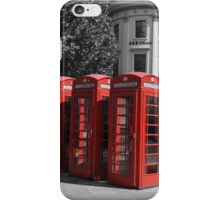 London Red iPhone Case/Skin