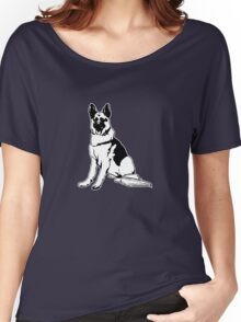 German shepherd Women's Relaxed Fit T-Shirt