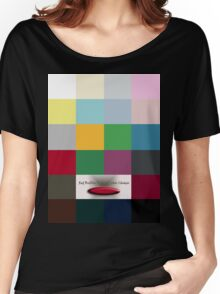 RedBubble T-Shirt Color Choices Women's Relaxed Fit T-Shirt
