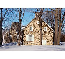 Historic Canadian Houses Photographic Print