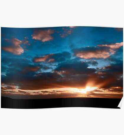 Margaret River Sunset Poster