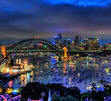 Illumination - Sydney Harbour, Australia - The HDR Experience by Philip Johnson