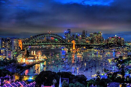 Illumination - Sydney Harbour, Australia - The HDR Experience by Philip Johnson