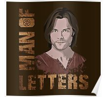 Man of Letters Sam Winchester Poster