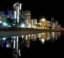 Gold Coast Skyline by Andrew Wilson