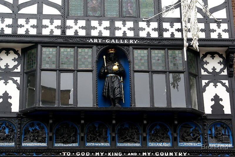 Art Gallery, Northgate, Chester, C17th facade by BronReid