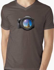 Photo of Paris Mens V-Neck T-Shirt