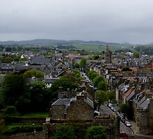 St Andrews view from St Rule's Tower by BronReid