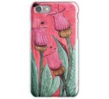 Rhapsody in Pink and Green iPhone Case/Skin