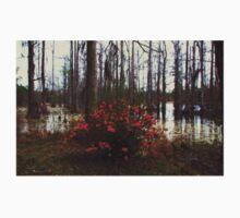 Red bush in the swamp Kids Tee