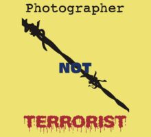 I am not a Terrorist!  I am a photographer! by lightsmith