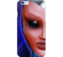 Blue Alien Mental Energy iPhone Case/Skin