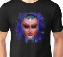Blue Alien Mental Energy Unisex T-Shirt