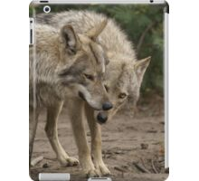 Rescued Timber Wolves 1 iPad Case/Skin