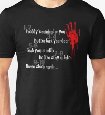 Don't Fall Asleep... Unisex T-Shirt