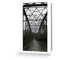 Bridge over troubled waters! Greeting Card