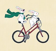 biking bunnies  by vian