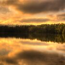 Watercolours - Narrabeen Lakes, Sydney - The HDR Experience by Philip Johnson