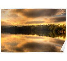 Watercolours - Narrabeen Lakes, Sydney - The HDR Experience Poster