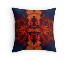 Beauty in the Decay Throw Pillow