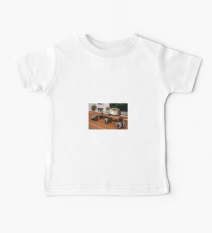 Rusty Old Roller Skates and Tin Bath Baby Tee