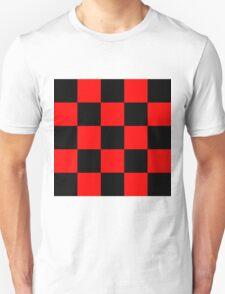 Red chess Unisex T-Shirt