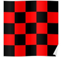 Red chess Poster