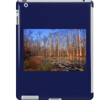 Trees in the swamp of Cypress Gardens SC iPad Case/Skin