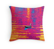 THE NORTH AMERICAN REDBUBBLE DUCK! Throw Pillow