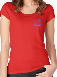 Smiley I.T. Women's Fitted Scoop T-Shirt