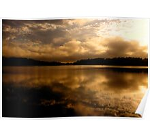 Golden Chalice - Narrabeen Lakes,Sydney -The HDR Experience Poster