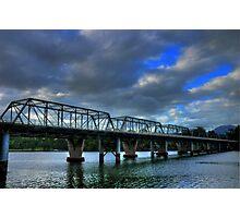 Bridge on the River Shoalhaven Photographic Print