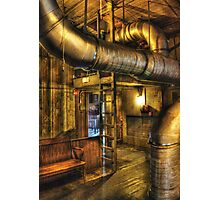 SteamPunk - Where the pipes go Photographic Print