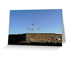 fort sumter Greeting Card