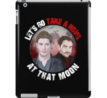 Howl At That Moon iPad Case/Skin