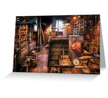 Machinist - Ed's Stock Room Greeting Card