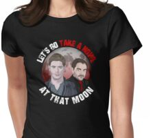 Howl At That Moon Womens Fitted T-Shirt