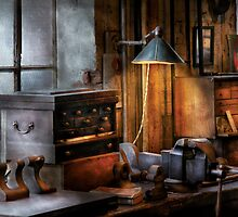 Machinist - My Workstation by Mike  Savad