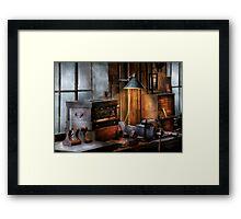 Machinist - My Workstation Framed Print