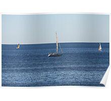 Sailing Yachts Poster