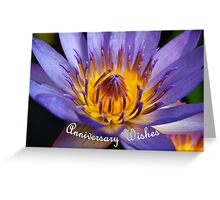 Blue Water Lily #2 - Hoi An, Vietnam  Greeting Card