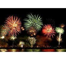 Fireworks 3 Photographic Print