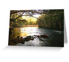 broadwater swimming hole Greeting Card