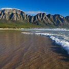 Atlantic Ocean at Kogel Bay by Peter Wickham