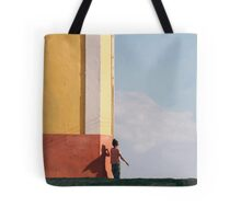 There's a super hero inside all of us.. Tote Bag