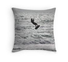 Kyte Surfing Throw Pillow