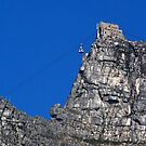 Table Mountain Cable station by Peter Wickham