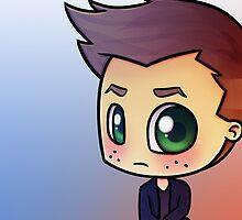 SPN's Jensen Ackles by bonejangless