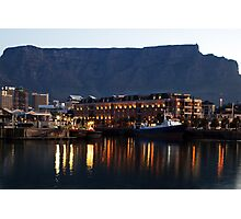 Table Bay - Cape Town's waterfront Photographic Print